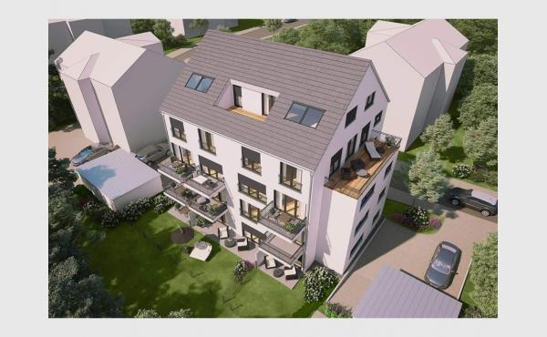 ruhig & modern - 12 Neubau-Wohnungen in Augsburg-Oberhausen