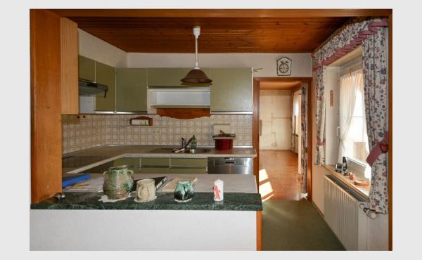 halboffene Küche